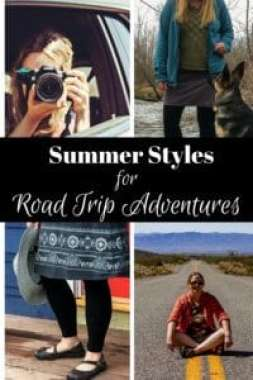 Packing for a road trip isn't always easy, especially if you have to pack light. Here are some of our favorite summer travel styles for active road trips.