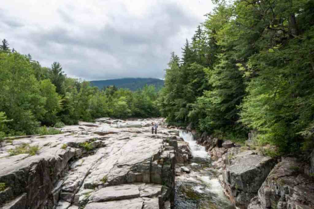 A view of Rocky Gorge in New Hampshire's White Mountains
