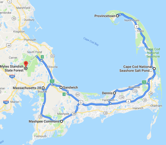 Cape Cod National Seashore - BACK ROADS AND OTHER STORIES