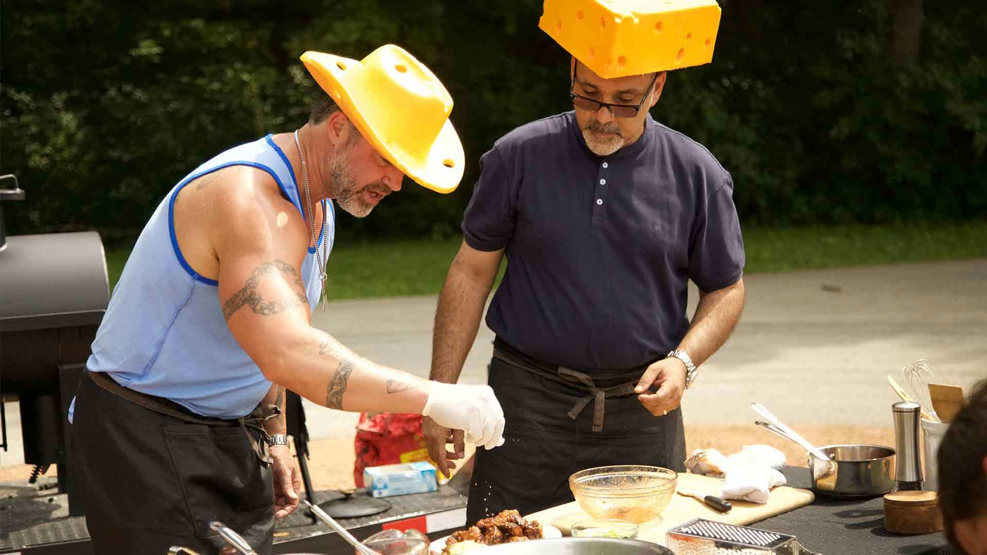 Big Bad BBQ Brawl Cheese hats