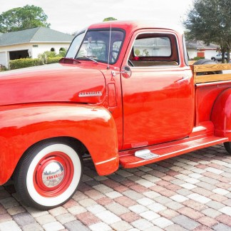 Chevrolet Step Side Pickup Magnet Candy Apple Red