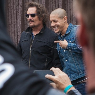 Juice and Tig arrive