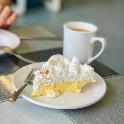 CL can't pass up coconut cream pie