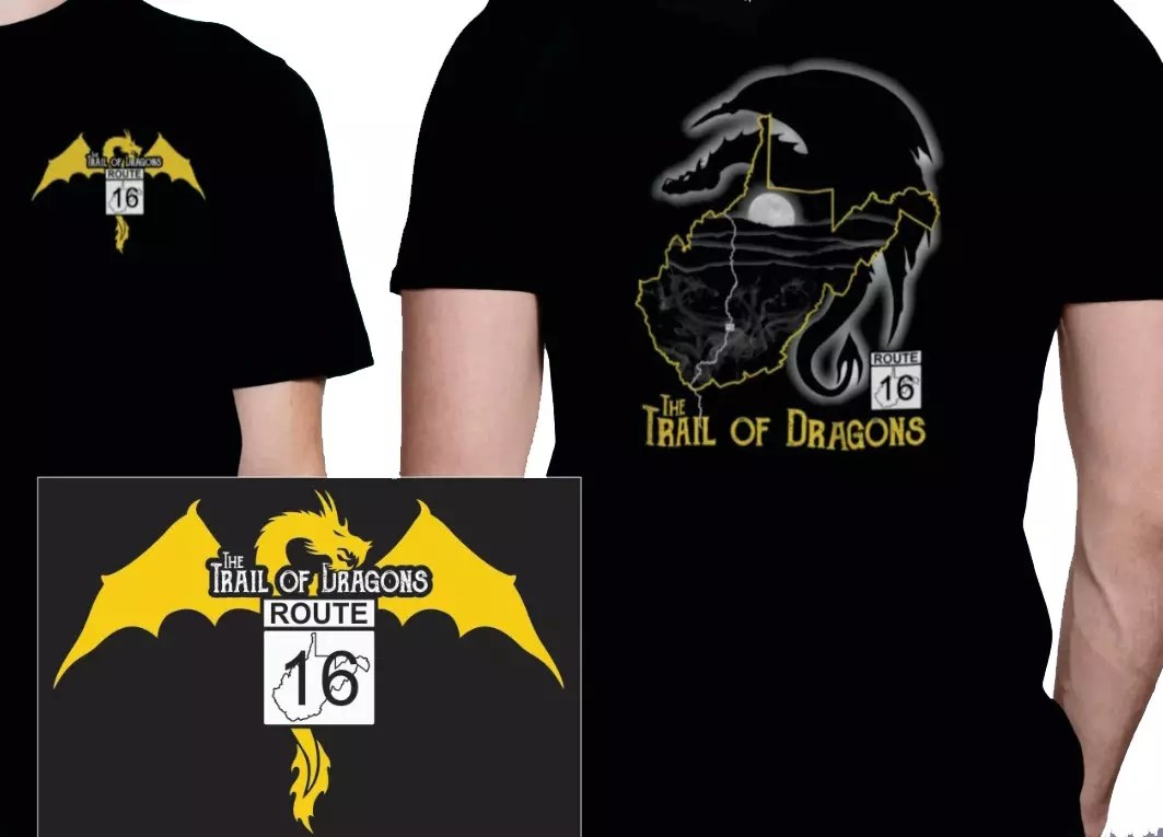THE TRAIL OF DRAGONS T-SHIRT