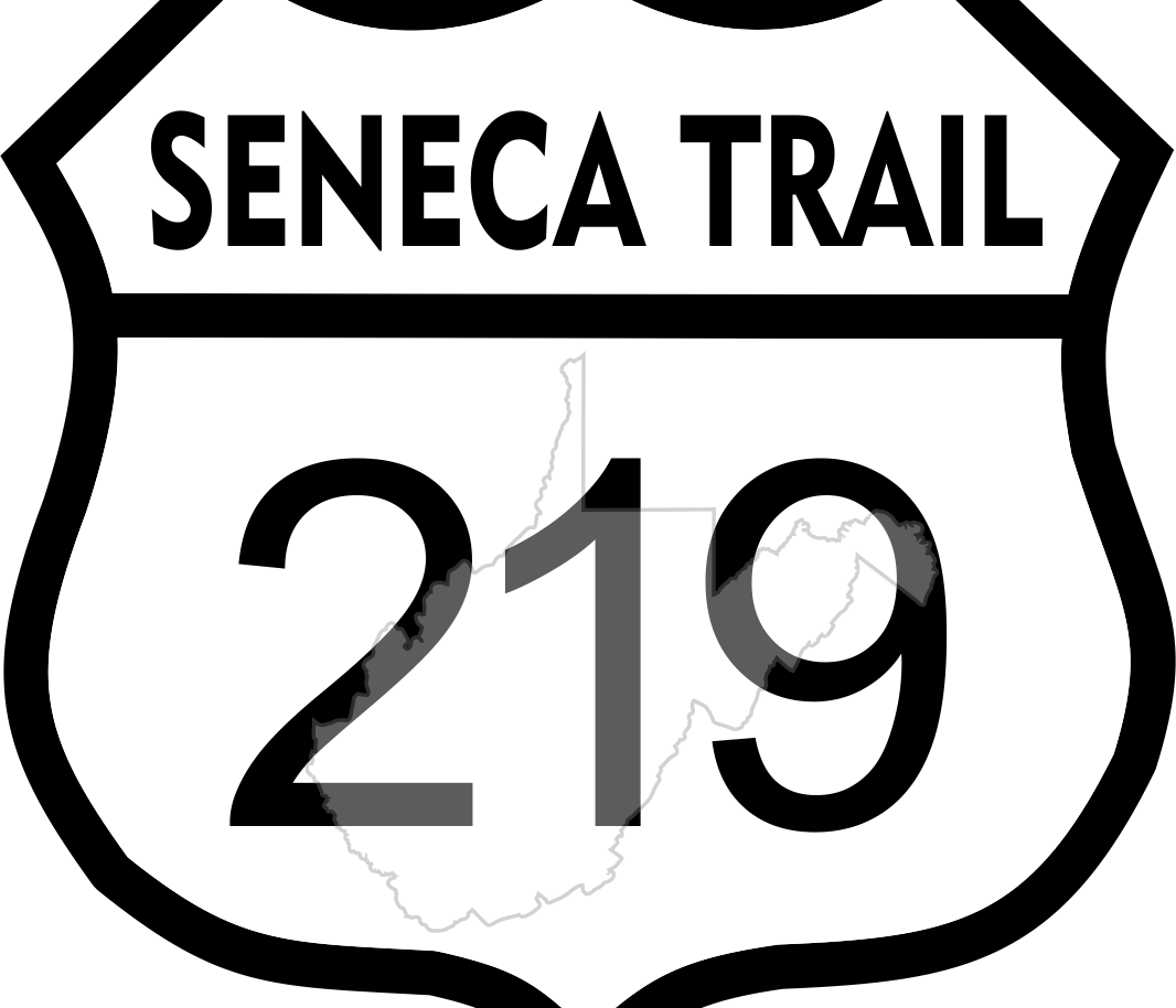 SENECA TRAIL STICKER