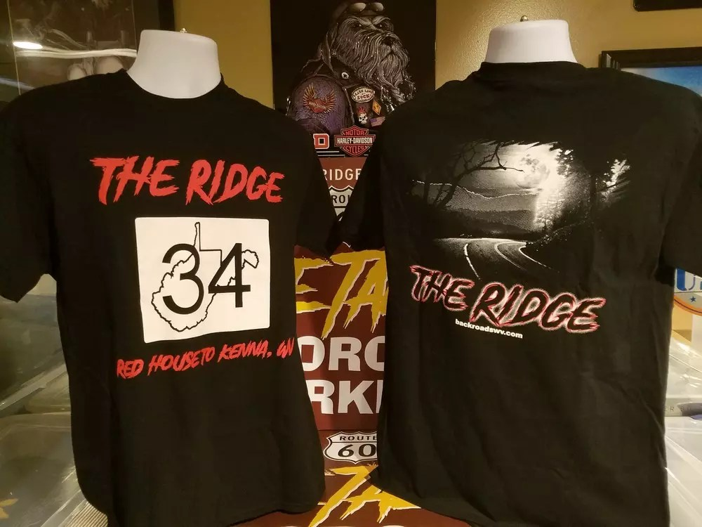 THE RIDGE TSHIRT (Center (Logo)