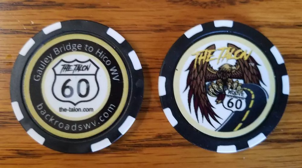 THE TALON POKER CHIP