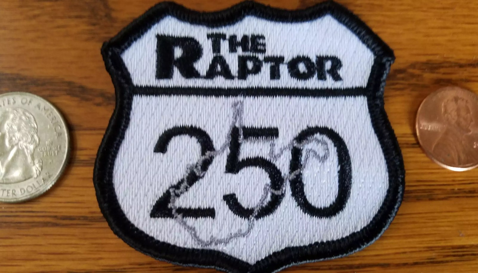 THE RAPTOR – EMBROIDERED PATCH