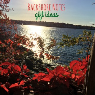 Backshore Notes -Gift Ideas