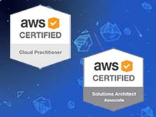 AWS Certified Cloud Practitioner plus AWS Certified Solutions Architect Associate bargain bundle
