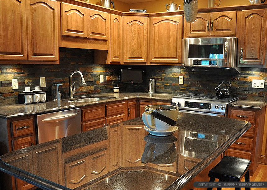 Black Countertop Backsplash Ideas - Backsplash.com ... on Kitchen Backsplash Ideas With Black Granite Countertops  id=53452