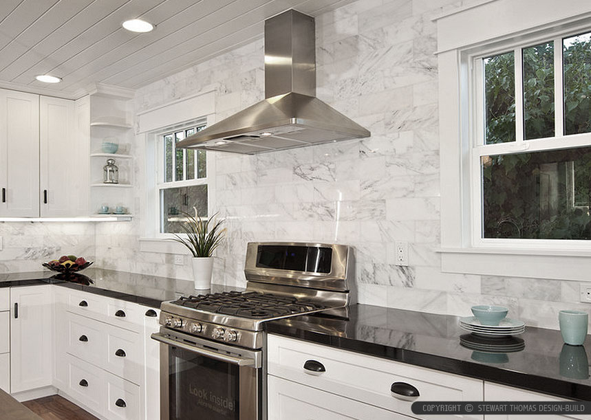 Black Countertop Backsplash Ideas | Backsplash.com on Countertops Backsplash Ideas  id=79079