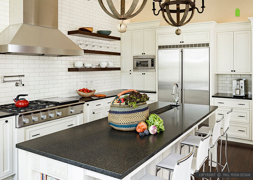 Black Countertop Backsplash Ideas | Backsplash.com on Kitchen Backsplash With Black Countertop  id=60360