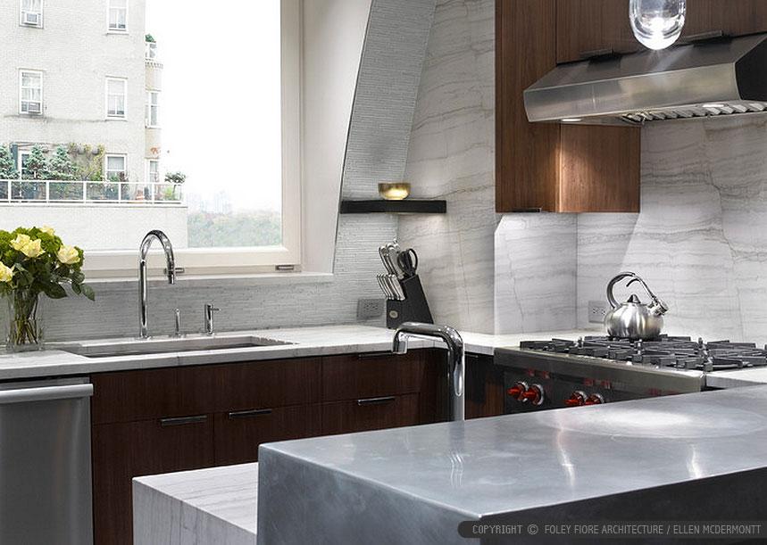 Elegant Modern White Glass Backsplash Tile