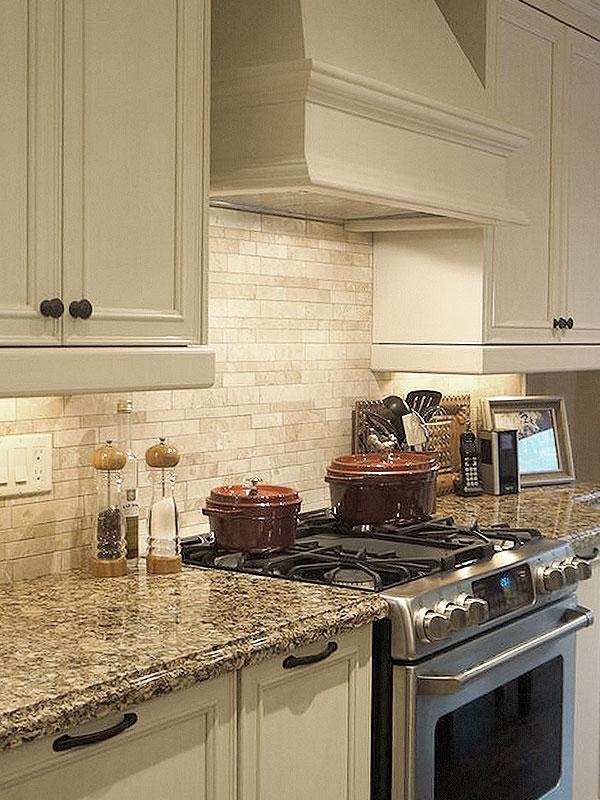 Light ivory Travertine Kitchen Subway Backsplash Tile ... on Countertops Backsplash Ideas  id=75885