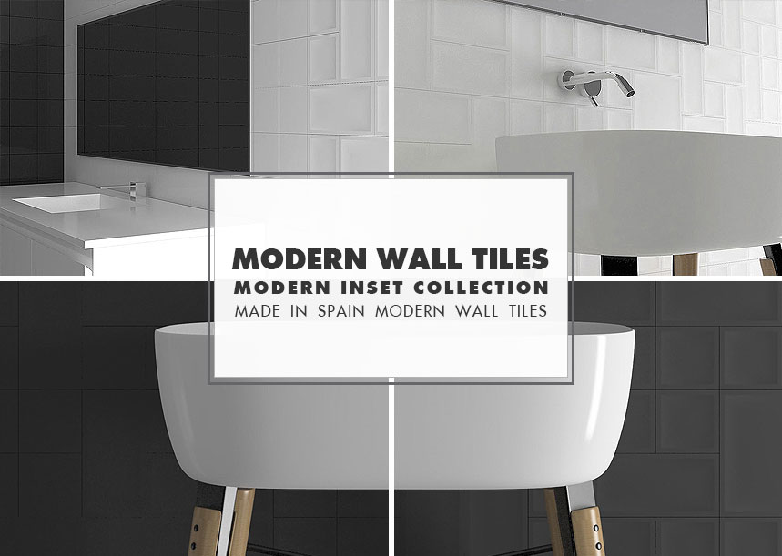 Modern Wall Tile Ideas Inset Collection