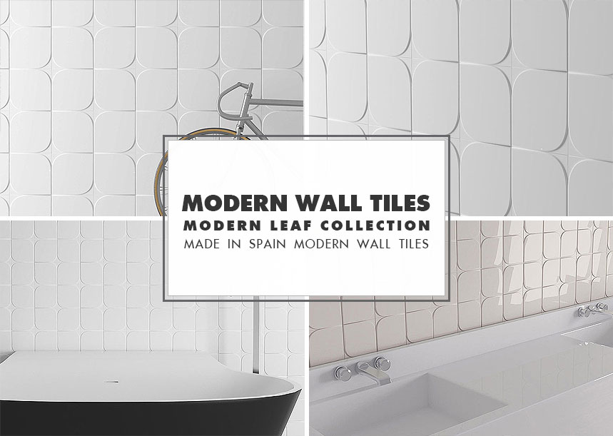 Modern Wall Tile Ideas Leaf Collection