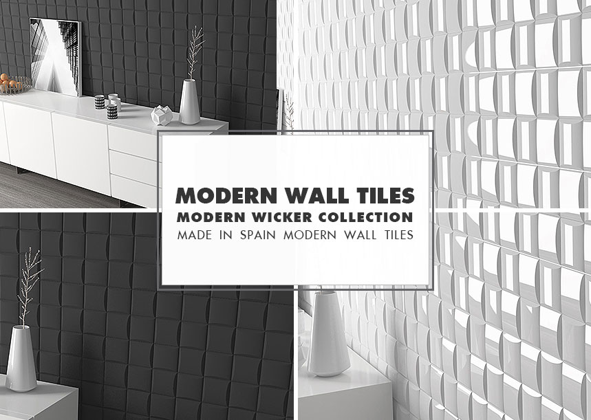Modern Wall Tile Ideas Wicker Collection
