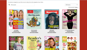 zinio front page