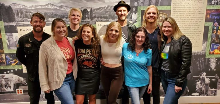 VIP photo with Delta Rae in Boulder 2019