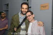 Jonathan Raviv and Garth Kravits. Photo by Lia Chang
