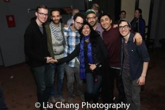Tim Rosser, Jonathan Raviv, Charlie Sohne, Nejla Yatkin, Osh Ghanimah, Nikhil Saboo and Troy Iwata (not pictured: Deven Kolluri). Photo by Lia Chang