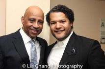 Ruben Santiago-Hudson and Brandon J. Dirden. Photo by Lia Chang