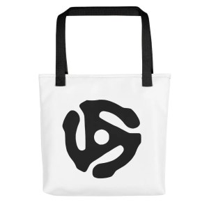 Record Adapter Tote Bag