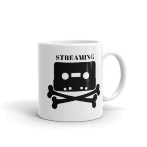Streaming Is Killing Music Mug