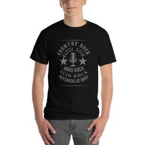 Rock Music Genres Tee Shirt
