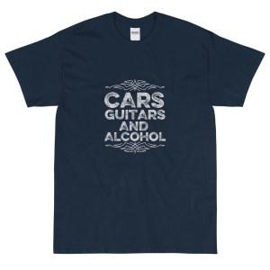 Cars Guitars and Alcohol Tee Shirt