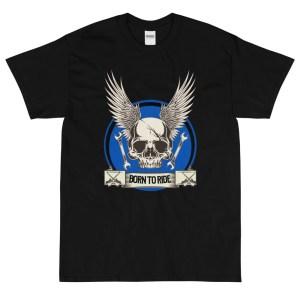 Born To Ride Biker's Tee Shirt