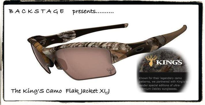 6db04136a4 The Oakley King s Camo Flak Jacket XLJ