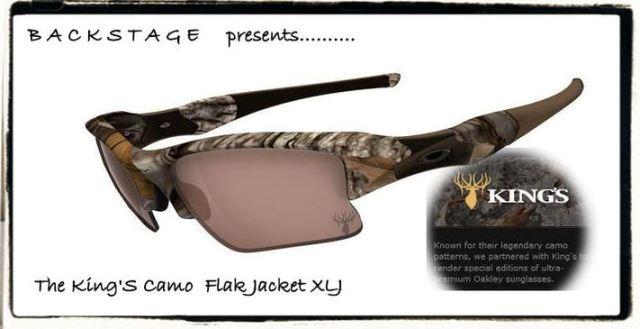 Oakley King's Camo Flak
