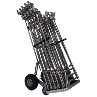 Magliner Self Stabilizing C-Stand Cart Front View