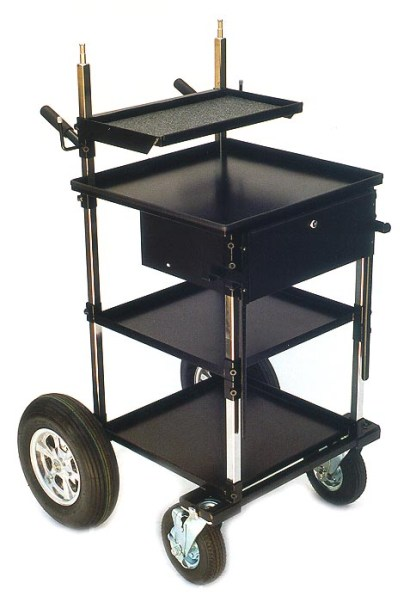 """Video/Sound Transformer Cart with 8"""" Wheels"""