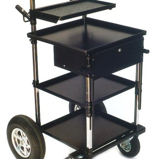 "Video/Sound Transformer Cart with 8"" Wheels"