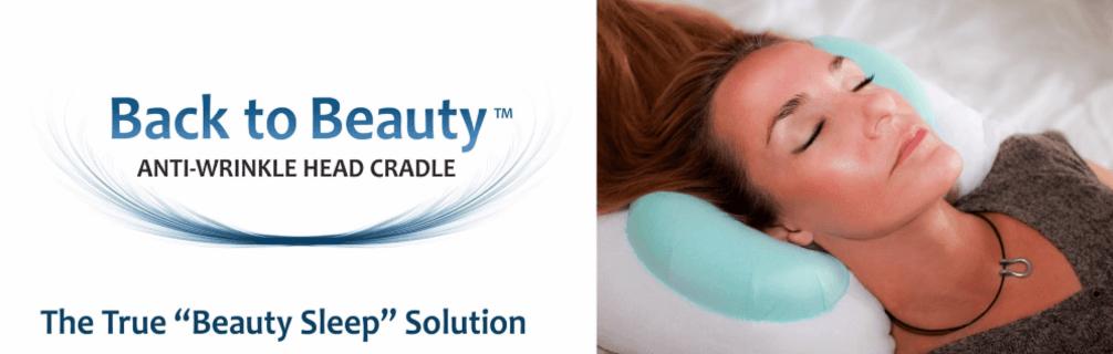 back to beauty anti wrinkle head cradle