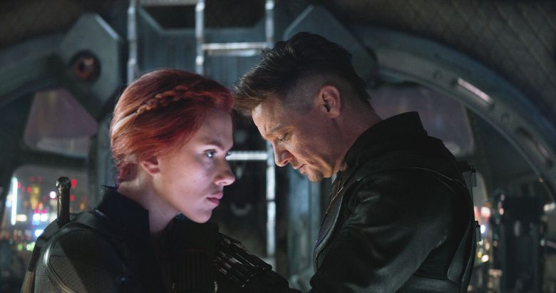 Natasha and Clint