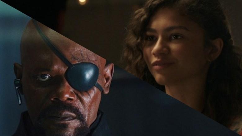 Nick Fury and MJ