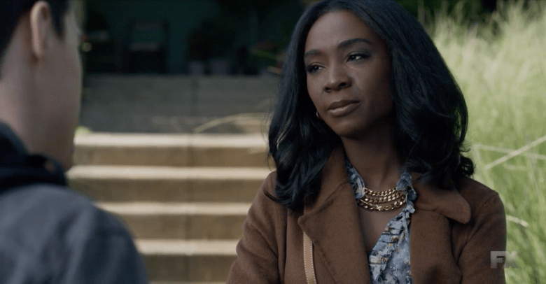 Angelica Ross portraying Donna Chambers.