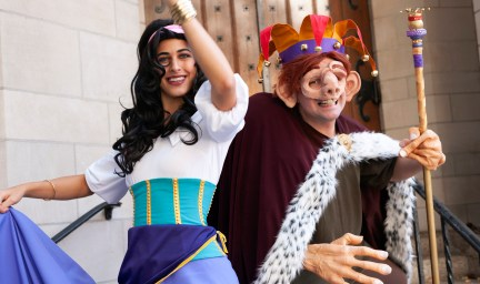 Hunchback of Notre Dame Halloween Costume Photos and BTS