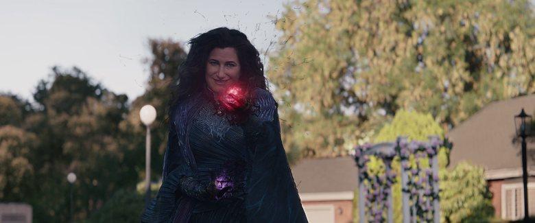 "Kathryn Hahn as Agatha Harkness in ""WandaVision."""