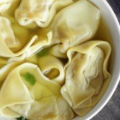 Delicious Homemade Wonton Soup