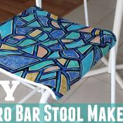To-DIY-For: Retro Bar Stool Makeover