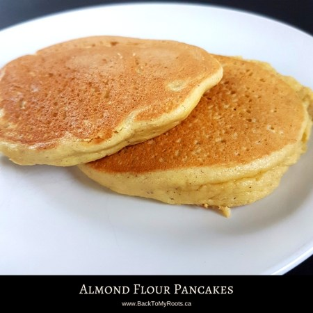 Almond Flour Pancakes (low carb, keto)
