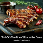 """Fall-Off-The-Bone"" Ribs in the Oven"