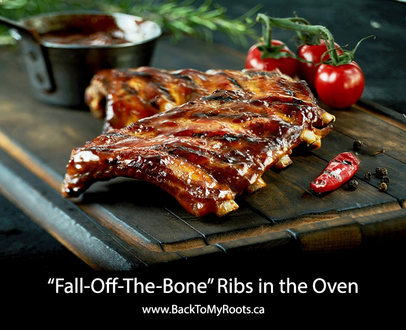 Baked Ribs - Back To My Roots