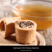 Instant Pot Bone Broth (high gelatin content)