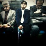Enjoying the metro